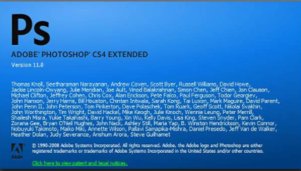 PHOTOSHOP cs4软件